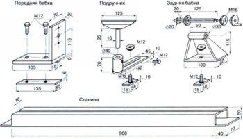 изготовление токарного станка