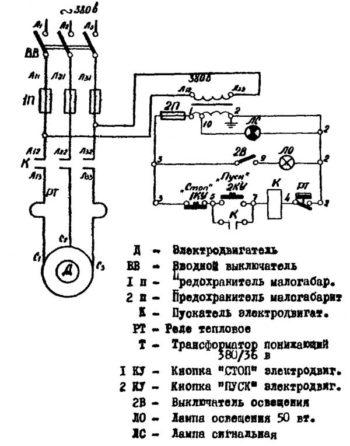 схема самодельного молота