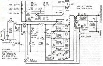 изготовление инвертора по электрической схеме