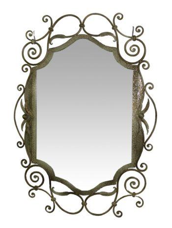 кованая рама зеркала