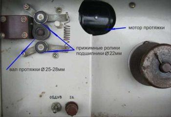 подача проволоки в полуавтоматическом сварочном аппарате