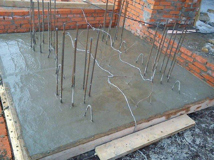 подогрев бетона в зимнее время