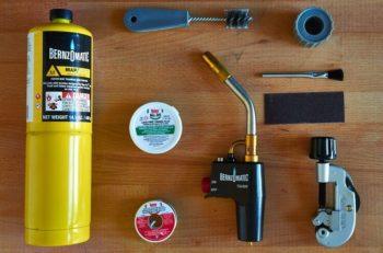 инструменты для пайки медных труб